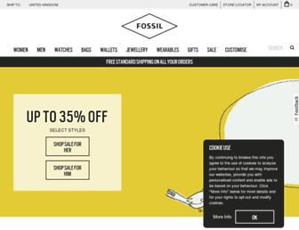 Thumbshot of Fossil.co.uk