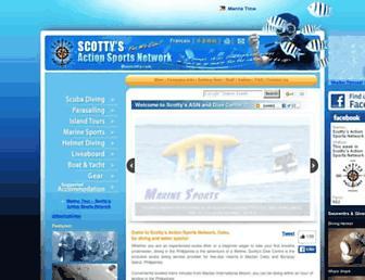 divescotty.com screenshot