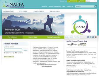 Thumbshot of Napfa.org
