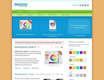 Thumbshot of Colorschemer.com