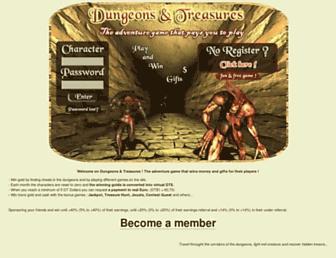 Thumbshot of Dungeons-treasures.com