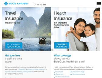 on.bluecross.ca screenshot
