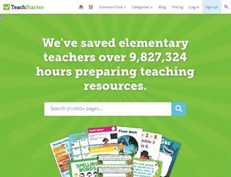 teachstarter.com screenshot