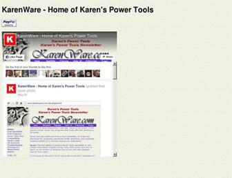 karenware.com screenshot