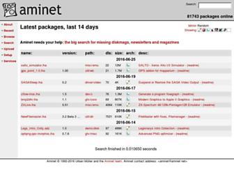 aminet.net screenshot