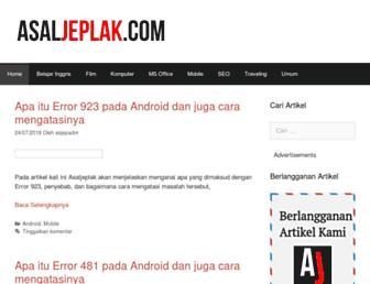 asaljeplak.com screenshot