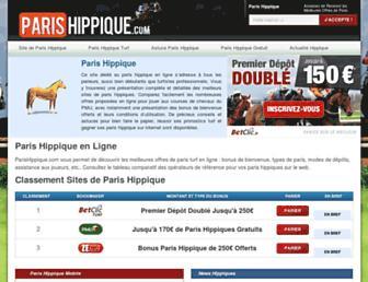 parishippique.com screenshot