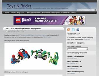 toysnbricks.com screenshot