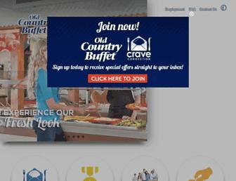 Thumbshot of Oldcountrybuffet.com