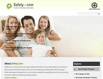 safety.com screenshot