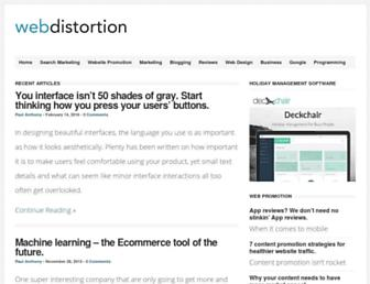 Thumbshot of Webdistortion.com