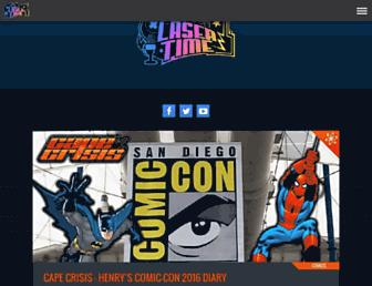 lasertimepodcast.com screenshot