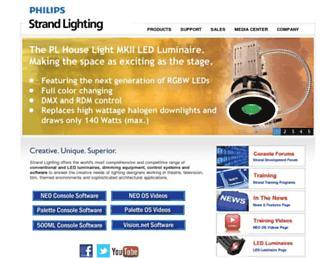 strandlighting.com screenshot