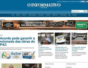 informativo.com.br screenshot