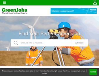 greenjobs.co.uk screenshot