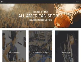 aasbasketball.com screenshot