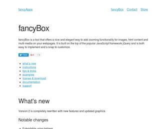 fancyapps.com screenshot