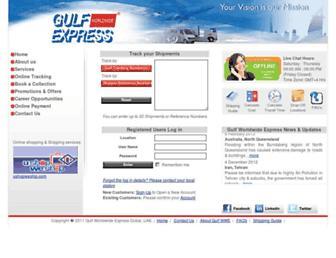 Thumbshot of Gulfworldwideexpress.com
