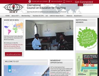 icet4u.org screenshot