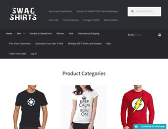 swagshirts99.com screenshot