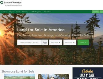 Thumbshot of Landsofamerica.com