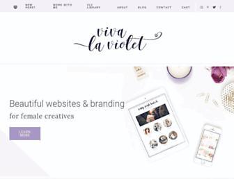Thumbshot of Vivalaviolette.com