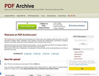 Thumbshot of Pdf-archive.com