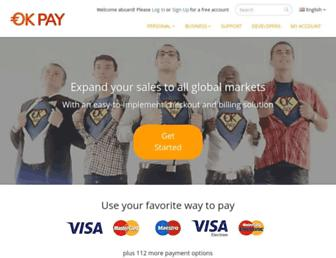 Thumbshot of Okpay.com