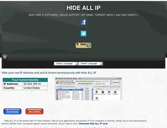 hideallip.com screenshot