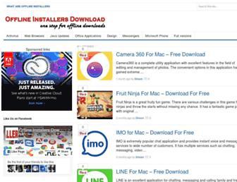 Thumbshot of Offlineinstallersdownload.com
