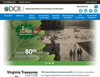dcr.virginia.gov screenshot