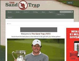 thesandtrap.com screenshot