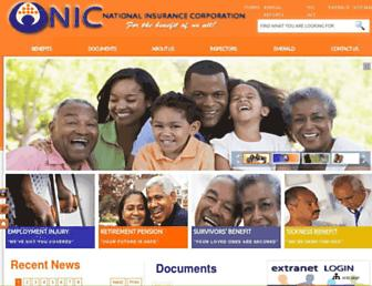stlucianic.org screenshot