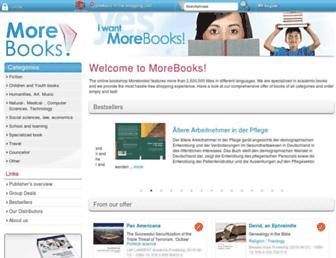 morebooks.de screenshot