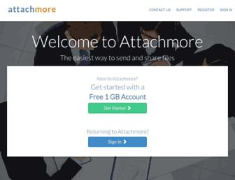attachmore.com screenshot