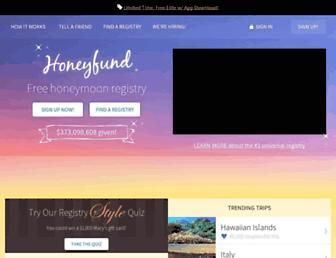 Thumbshot of Honeyfund.com