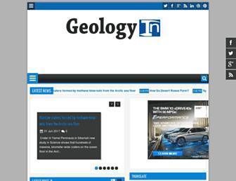 geologyin.com screenshot