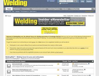Thumbshot of Weldingweb.com