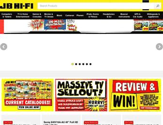 jbhifi.com.au screenshot