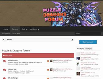 Thumbshot of Puzzleanddragonsforum.com