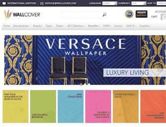 wallcover.com screenshot
