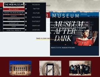 themobmuseum.org screenshot