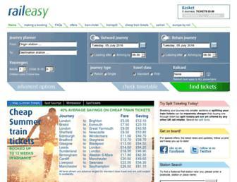 Thumbshot of Raileasy.co.uk