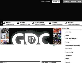 Thumbshot of Gdconf.com