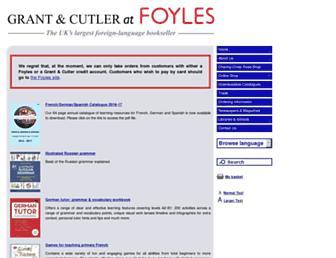 grantandcutler.com screenshot
