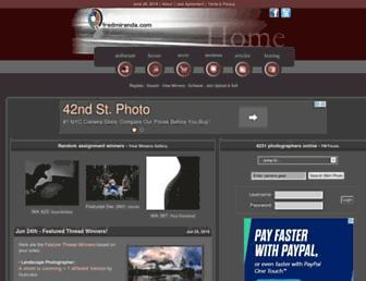 Thumbshot of Fredmiranda.com