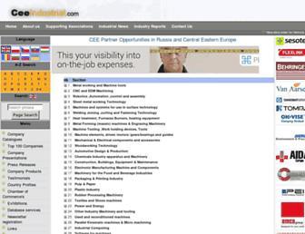 ceeindustrial.com screenshot