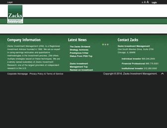 zacksim.com screenshot