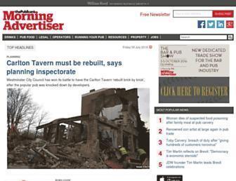 Thumbshot of Morningadvertiser.co.uk