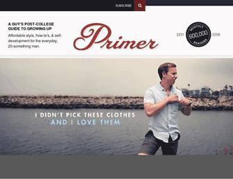 primermagazine.com screenshot